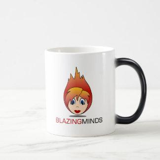 Blazing Minds Morphing Colour Mug