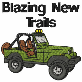 Blazing New Trails Embroidered Shirt
