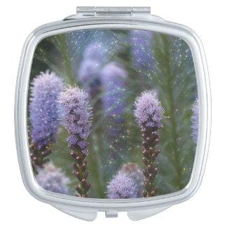 Blazing Star Flower Vanity Mirror