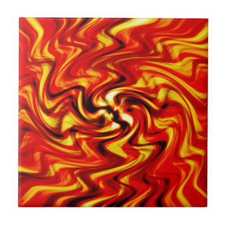 Blazing Sun Ceramic Tile