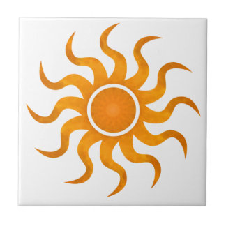 Blazing Sun Customizable Tile - Small