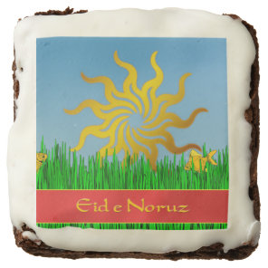 Blazing Sun Persian New Year Eid-eh Norooz Chocolate Brownie