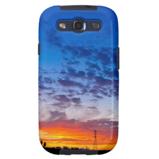 Blazing Sunset by Johnny Crash Samsung Galaxy SIII Covers