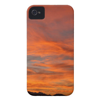 Blazing Sunset iPhone 4 Cover
