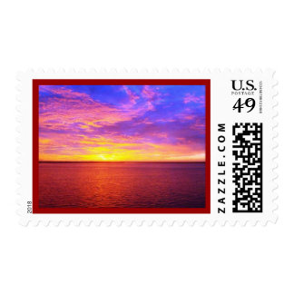 Blazing Sunset Postage