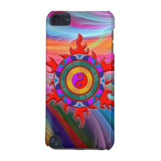 BLAZING YIN YANG iPod TOUCH (5TH GENERATION) CASE