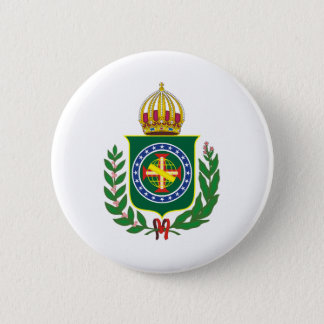 Blazon Empire of Brazil Pinback Button