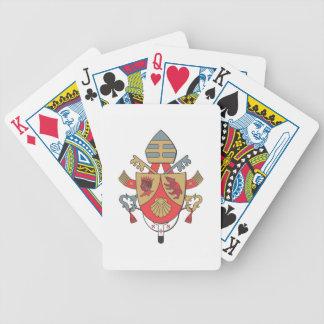 Blazon Pope Benedict XVI Playing Cards