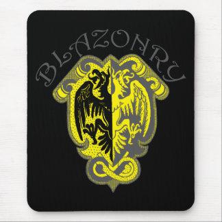 Blazonry Dark Mouse Pad
