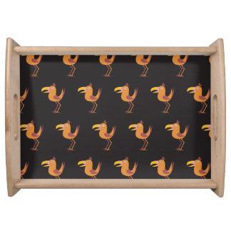 Blck del pájaro de Tucan