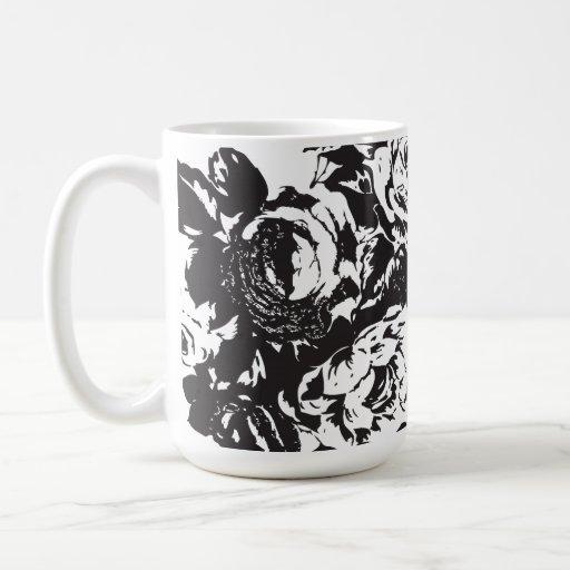 Blck subió la taza de café - 440ml