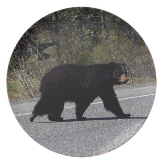 BLCR Bear Crossing Dinner Plate
