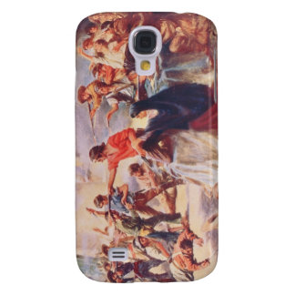 Ble of the Alamo by Percy Moran Samsung Galaxy S4 Cover