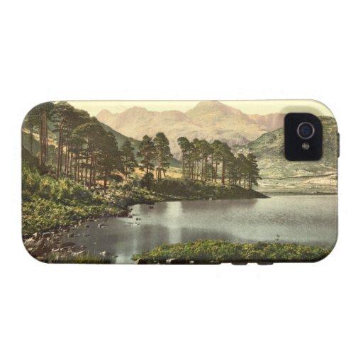 Blea distrito del Tarn, lago, Cumbria, Inglaterra Case-Mate iPhone 4 Funda
