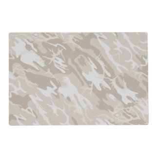 Bleached Wasteland Camo Placemat