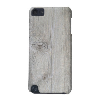 Bleached Wood Plank Texture iPod Touch Case
