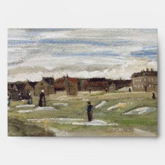 Bleaching Ground at Scheveningen by Van Gogh Envelopes