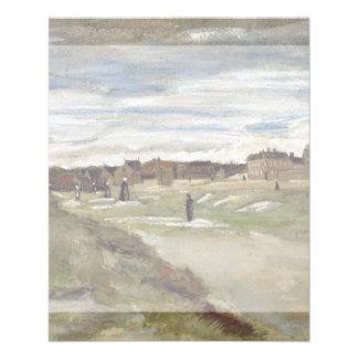 Bleaching Ground at Scheveningen by Van Gogh Flyer