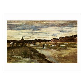 Bleaching Ground, Vincent van Gogh Postcard