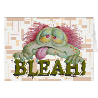 BLEAH CARDS