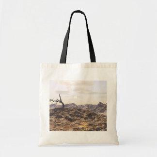 """""""Bleak Badlands"""" Bag Budget Tote Bag"""