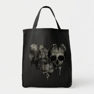 Bleak Heart Gothic Valentine Tote Bags