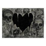 Bleak Heart Gothic Valentine Card