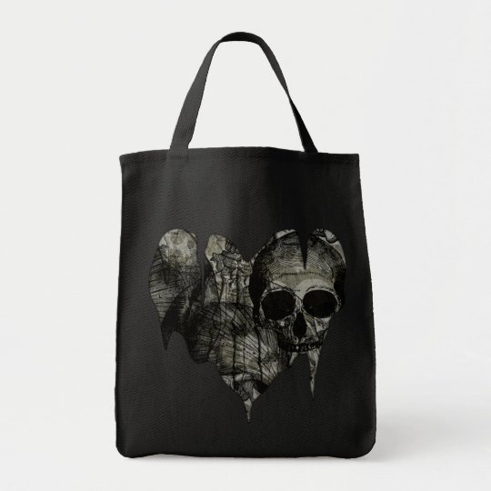Bleak Heart Gothic Valentine Tote Bag