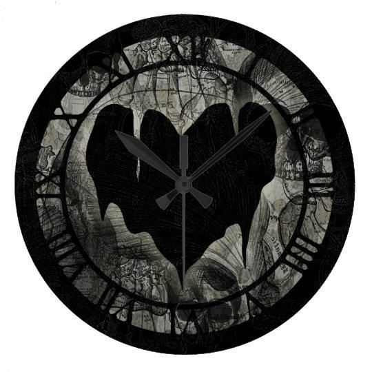 Bleak Heart Large Clock