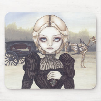 Bleak Mourning gothic funeral Mousepad