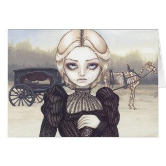 Bleak Mourning Greeting Card