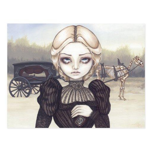 """Bleak Mourning"" Postcard"