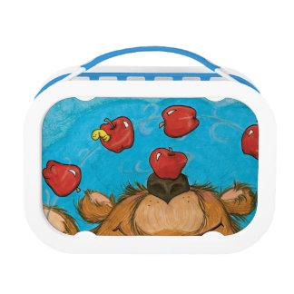 Bleary Juggling Bear / Yubo Lunchbox