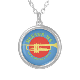 Bleaux Me - New Orleans Jazz Silver Plated Necklace
