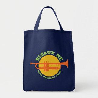 Bleaux Me - New Orleans Jazz Tote Bag