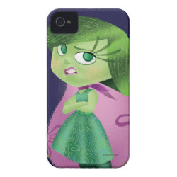 Case-Mate iPhone 4 Barely There Universal Case with Disgust of Inside Out design