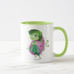 Combo Mug with Disgust of Inside Out design