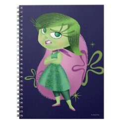 Photo Notebook (6.5' x 8.75', 80 Pages B&W) with Disgust of Inside Out design