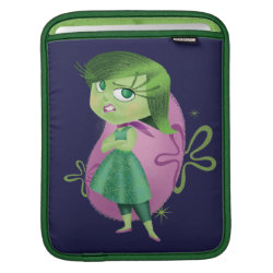 iPad Sleeve with Disgust of Inside Out design
