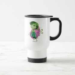 Travel / Commuter Mug with Disgust of Inside Out design