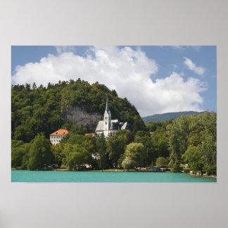 Bled lake Slovenia Poster