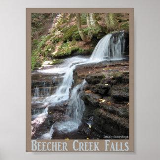Bleecher Creek Falls Poster