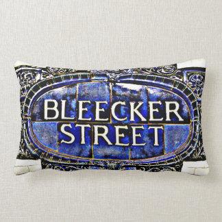 BLEECKER STREET SUBWAY SIGN PILLOW
