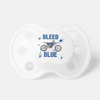 Bleed Blue 13 Pacifier