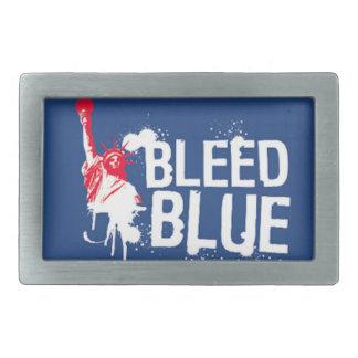 Bleed Blue Rangers Belt Buckle