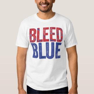 Bleed Blue T-shirts