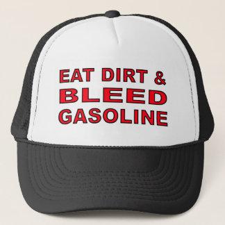 Bleed Gas Dirt Bike Motocross Cap Hat