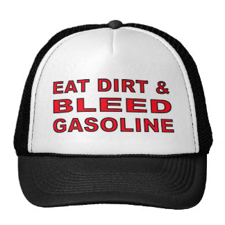 Bleed Gas Dirt Bike Motocross Cap Hat
