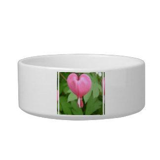 Bleed Heart Blossom Pet Bowl Cat Bowl