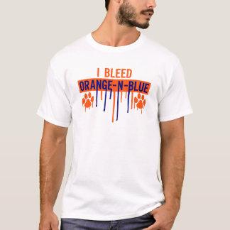 Bleed Orange and Blue T-Shirt